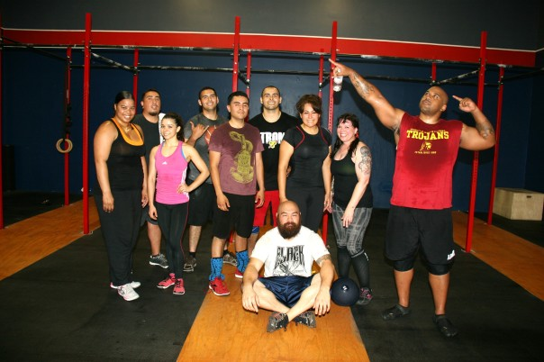 The A Team survived another fun and challenging partner WOD!