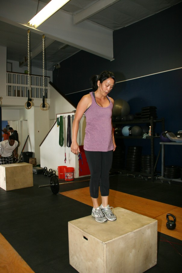 Jocelyn Box Jumps