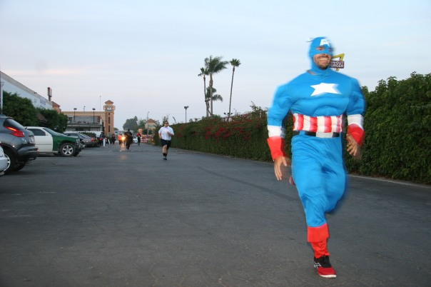 Captain America stays in shape thanks to CrossFit.