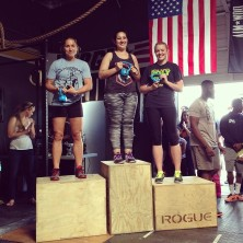 Gaby placed first and Jojo placed second in the beginner division.