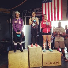 Mayra placing first in the intermediate division.